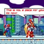 Megaman X Virus Mission 2 Screenshot