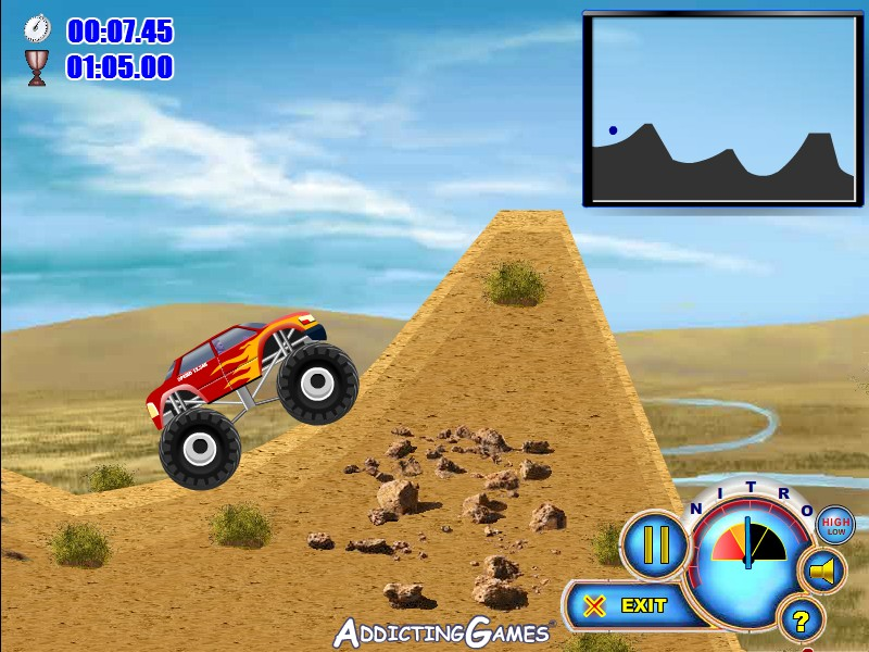 Monster Truck Games Nitro Hacked Download Free Software
