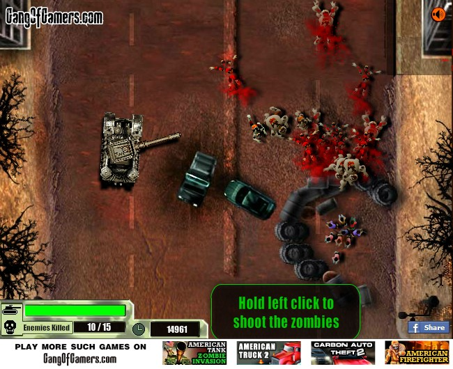 Car Driving Games >> American Tank Zombie Invasion Hacked (Cheats) - Hacked ...
