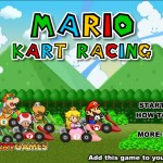 Mario Kart Race Screenshot