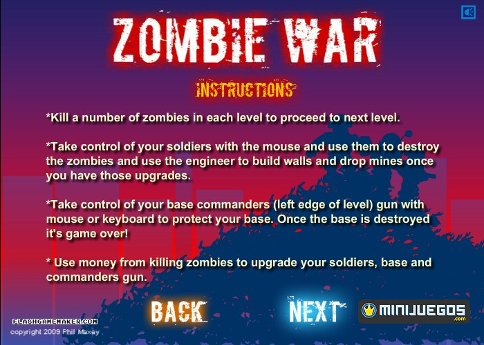 Zombie war games hacked