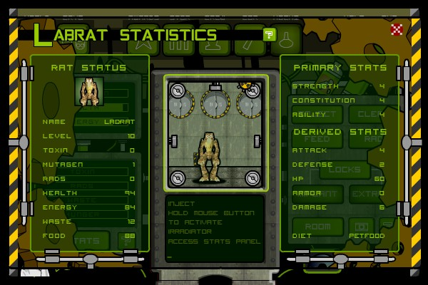 Mutate The Labrat  Hacked Crafting