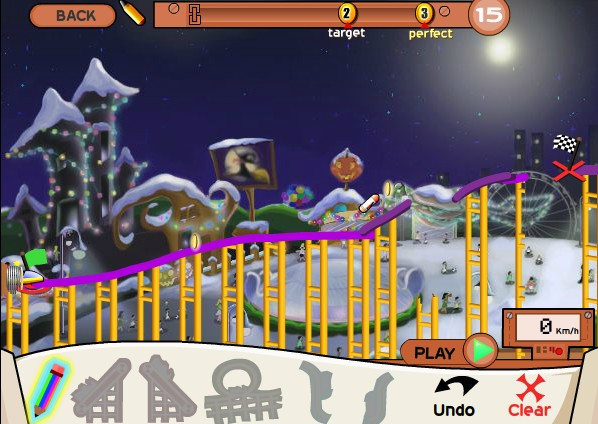 roller coaster creator game