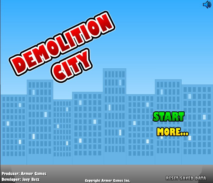 Demolition Games Free