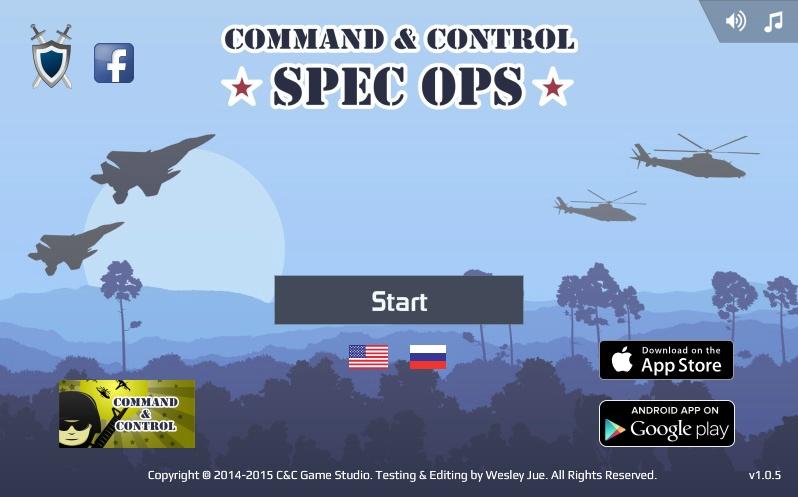 Command & Control - Spec Ops Hacked | ArcadePreHacks.com