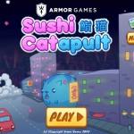 Sushi Cat-a-pult Screenshot
