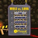 Mole Vs. Lava Screenshot