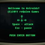 Vintage Space Defender Screenshot