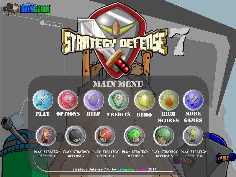 strategy defence games