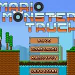 Mario Monster Truck Screenshot