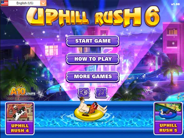 Play online up hill rush 6 game by anas abid burhani