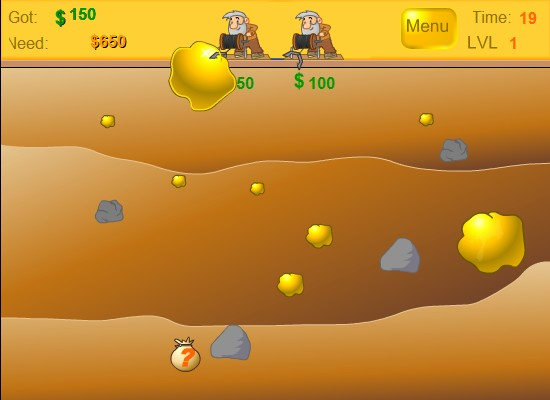 gold miner player 2