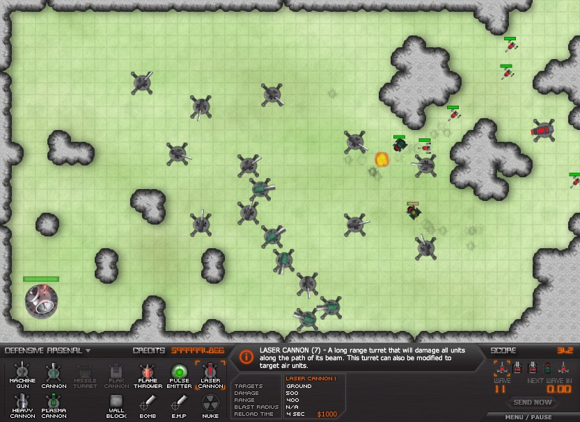 Tower Defence Games Hacked | ArcadePreHacks.com