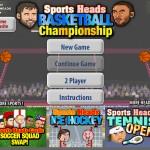 Sports Heads Basketball: Championship Screenshot