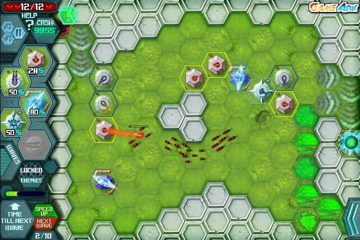 Hexagon Planet TD Hacked (Cheats) - Hacked Free Games