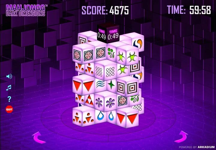 Mahjongg Dark Dimensions Hacked (Cheats) - Hacked Free Games