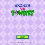 Archer VS Zombies Screenshot