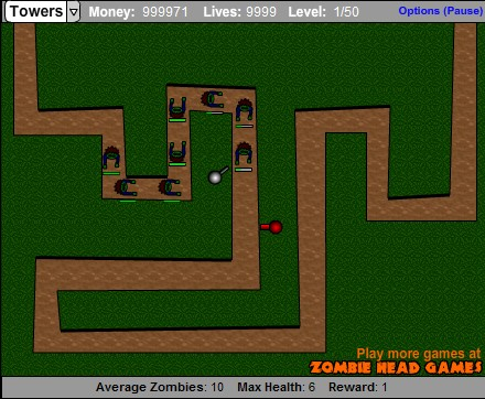 Zombie tower defense 3 hacked cheats hacked free games