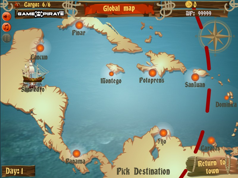 games like caribbean admiral