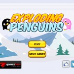 Exploding Penguins Screenshot