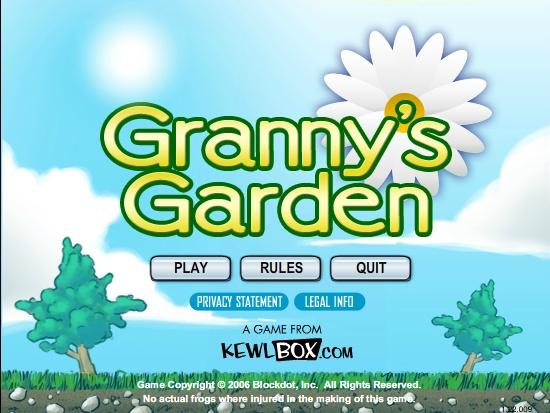 Granny's Garden Screenshot ...