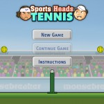 Sports Heads: Tennis Screenshot