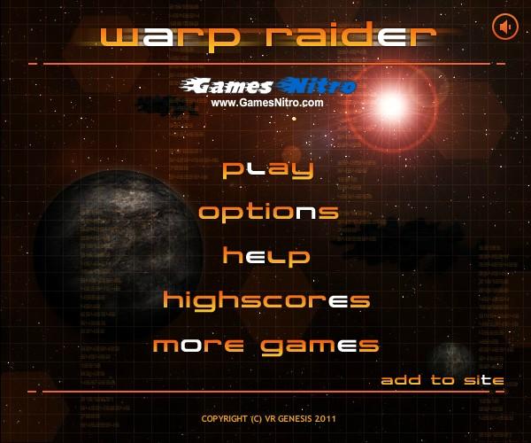 Warp Raider Hacked (Ch...