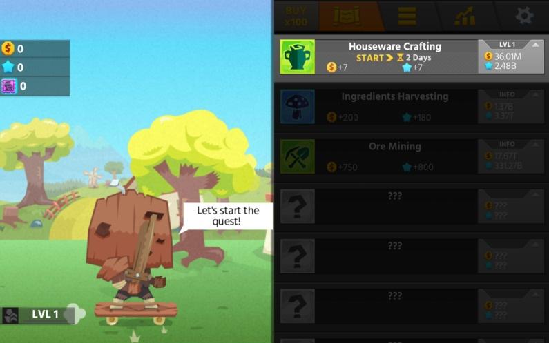 Hero Simulator: Idle Adventures Hacked (Cheats) - Hacked Free Games