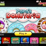 Papa's Donuteria Screenshot