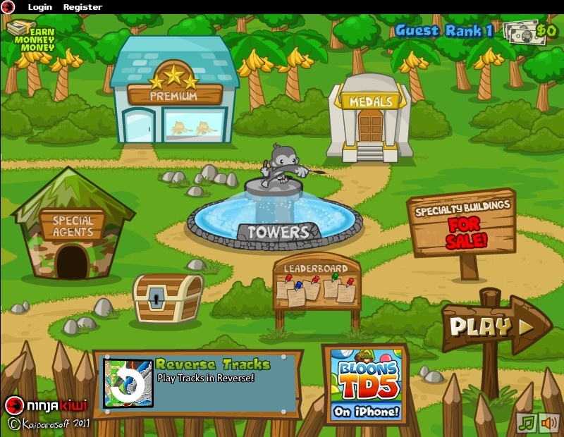 Bloons Tower Defense 5 Hacked (Cheats) - Hacked Free Games