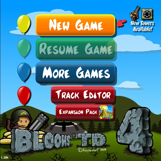 Bloons tower defense 4 hacked cheats hacked free games