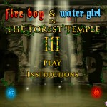 Fireboy and Watergirl 3: In The Forest Temple Screenshot