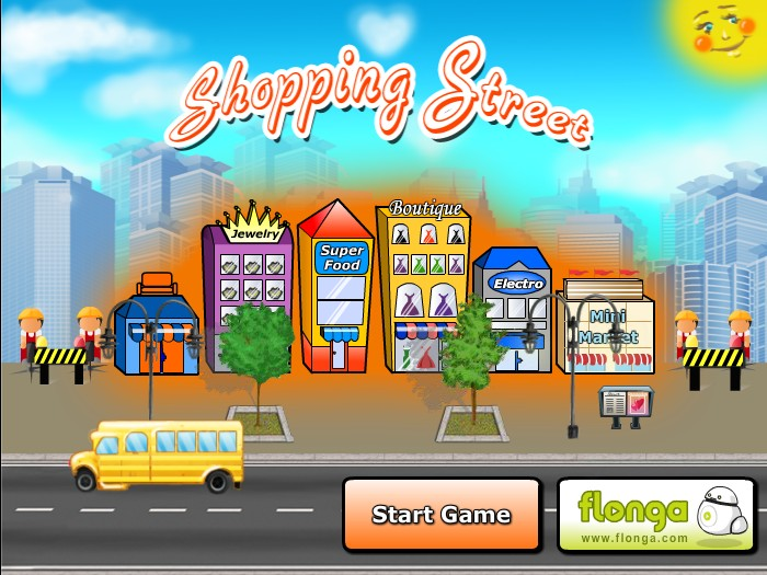 shopping city game