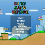 Super Mario Defence Screenshot