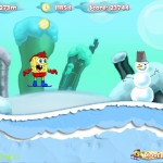 Spongebob Snowboarding Screenshot