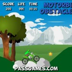 Motorbike Obstacles 2 Screenshot