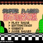 Super Mario Bounce Screenshot