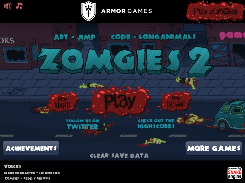 zOMGies 2 Hacked (Cheats) - Hacked Free Games