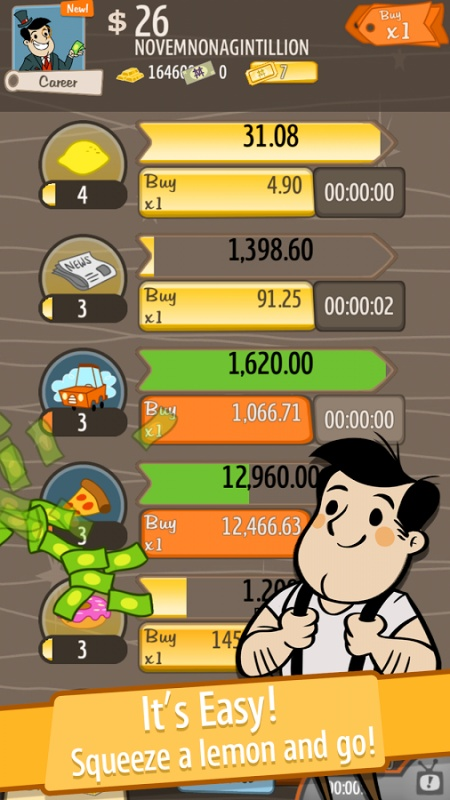 AdVenture Capitalist New Hacked (Cheats) - Hacked Free Games
