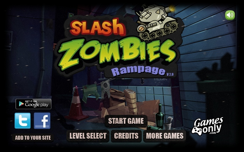 slash zombies rampage hacked cheats hacked free games