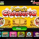 Papa's Cheeseria Screenshot