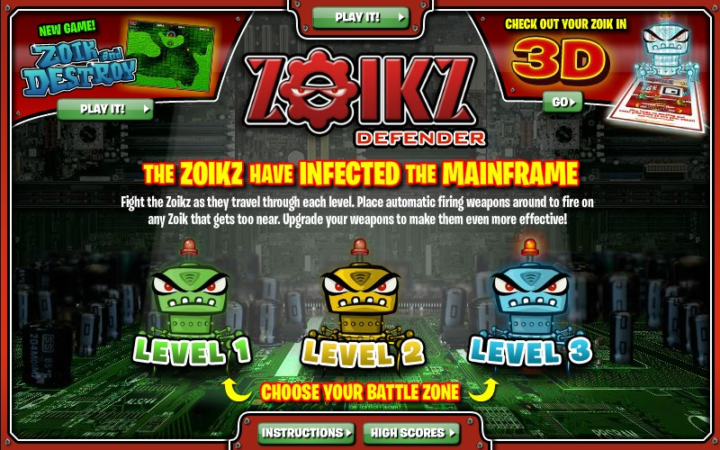Zoikz defender hacked cheats hacked free games