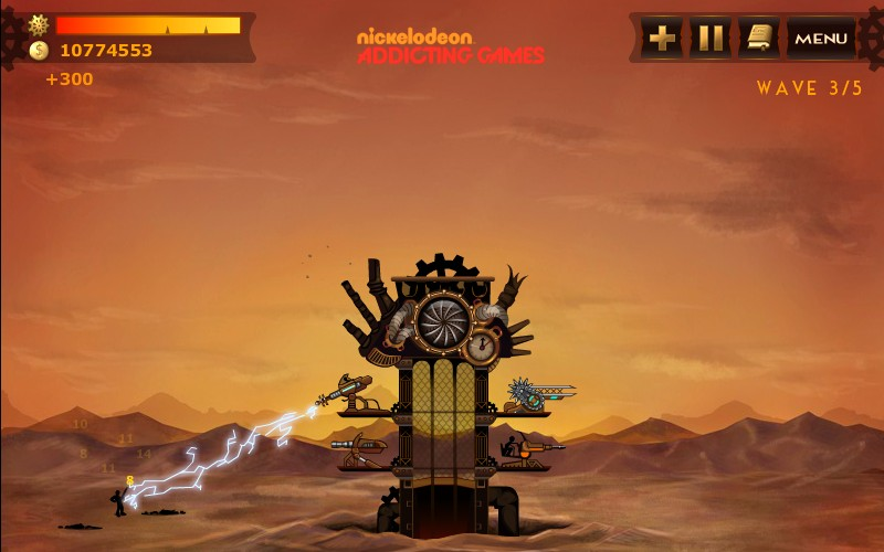 Steampunk Towers
