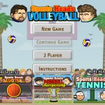 Sports Heads: Volleyball Screenshot