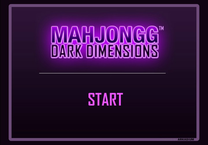 mahjong dark dimensions full screen