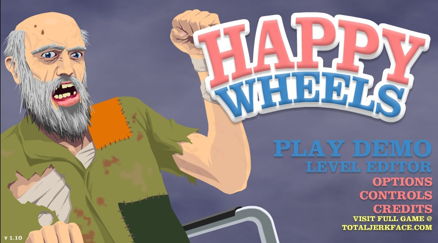 happy wheels full game free hacked