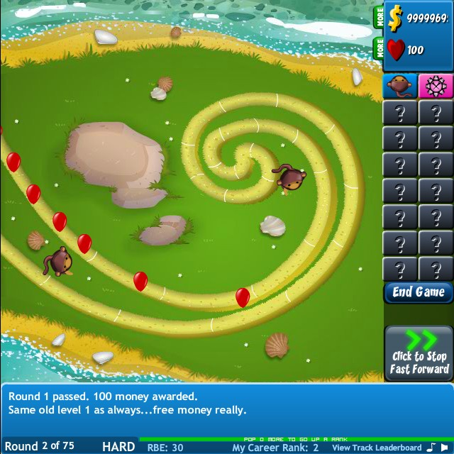 Bloons Tower Defense Expansion Hacked Cheats Free Games