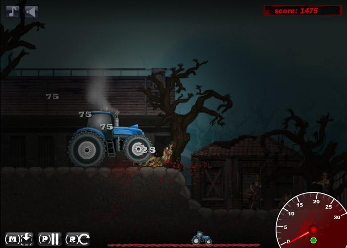 Hacked Games http://www.hackedfreegames.com/game/2871/zombietractor