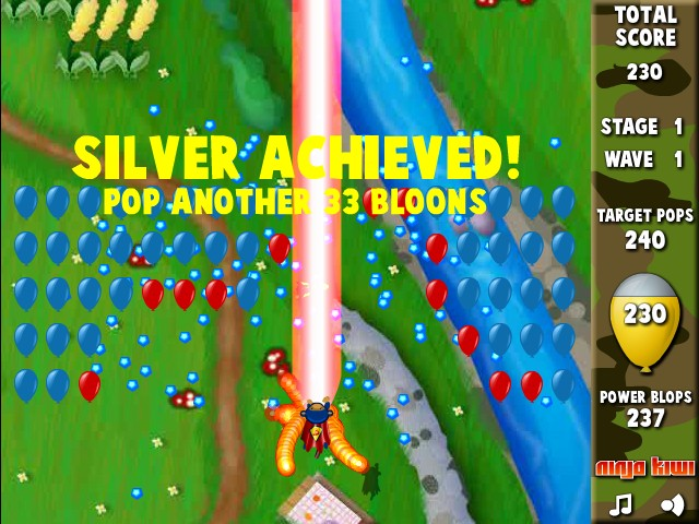 Hacked Super Monkey Bloons 2 | Hacked.