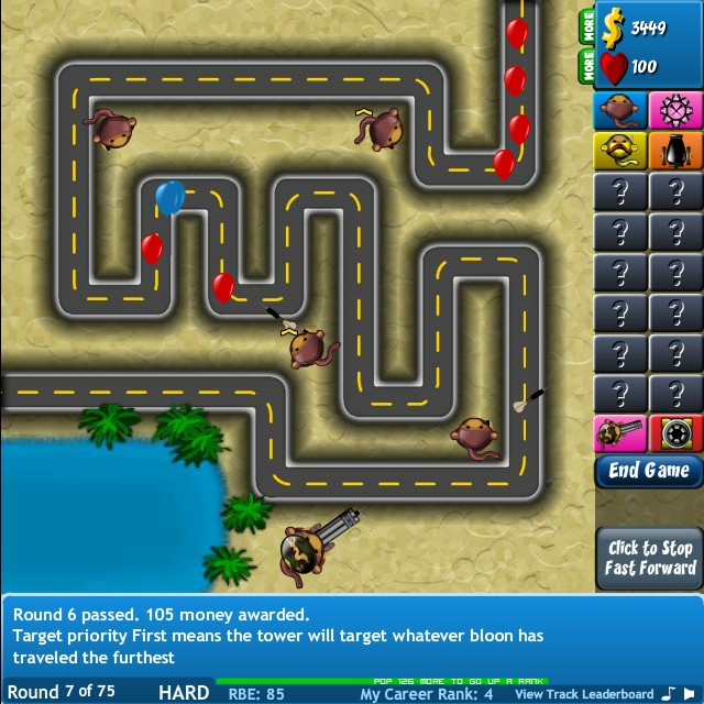 play bloons td 4